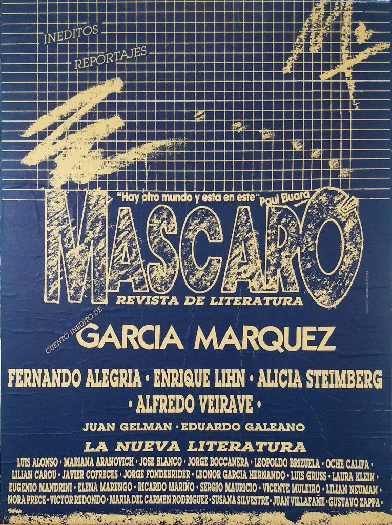 Afiche Revista Mascaró